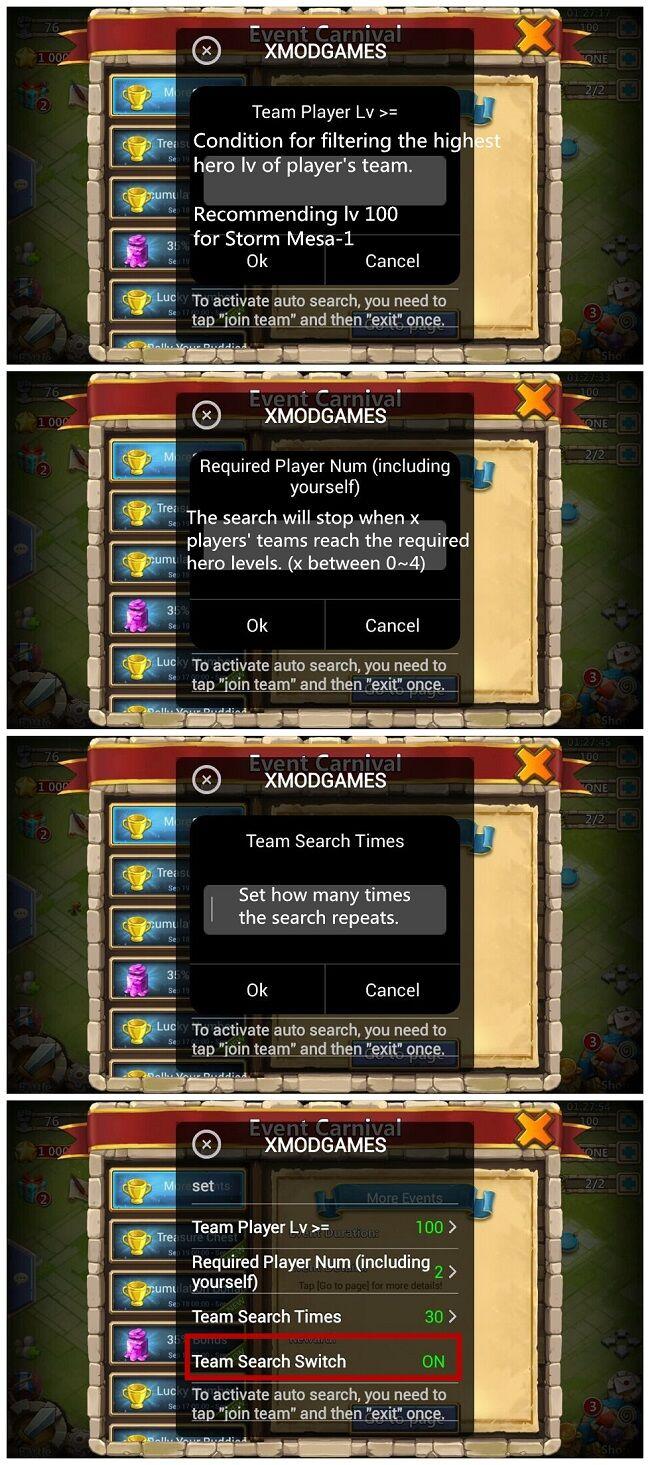 Mod Castle Clash 4