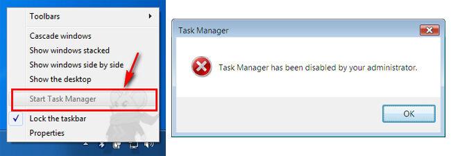 Task Manager Disabled