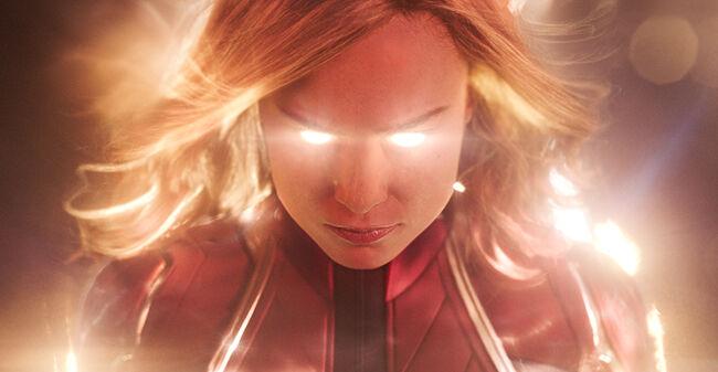 Inside Captain Marvel Glow