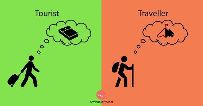 Perbedaan Turis Vs Traveler Mini 10