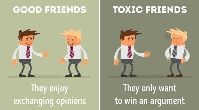 Perbandingan Teman Baik Dan Jahat 5