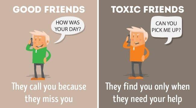 Perbandingan Teman Baik Dan Jahat 7