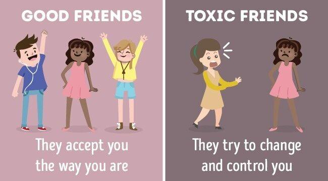 Perbandingan Teman Baik Dan Jahat 8
