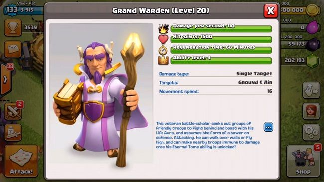 Gemming Grand Warden 1
