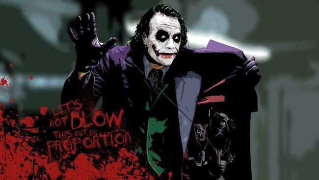Joker Heath Ledger 2 Custom A5af2