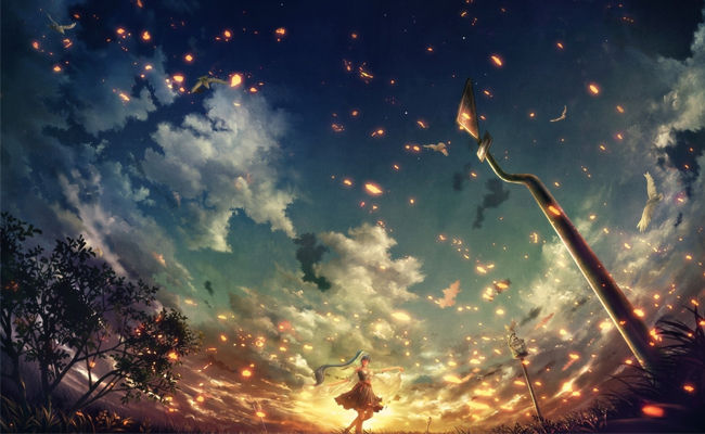 Wallpaper Anime Keren Pc 22 56bf1