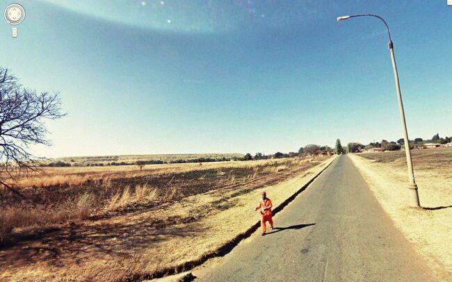 Foto Tak Terduga Google Street 9
