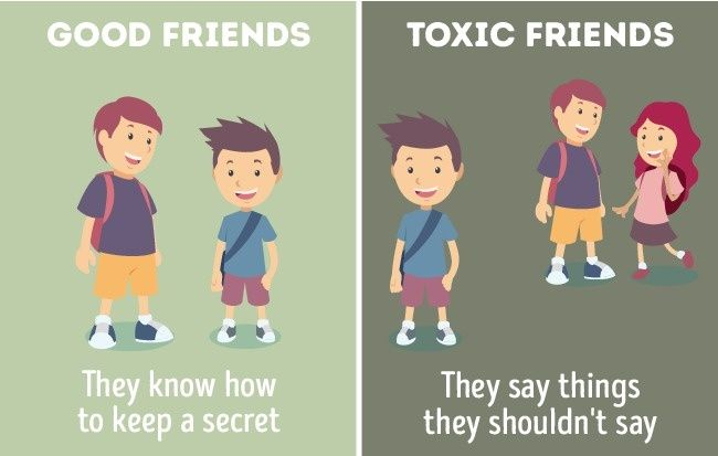 Perbandingan Teman Baik Dan Jahat 10