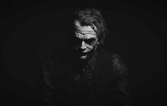 Joker Heath Ledger 4 Custom Ee95d