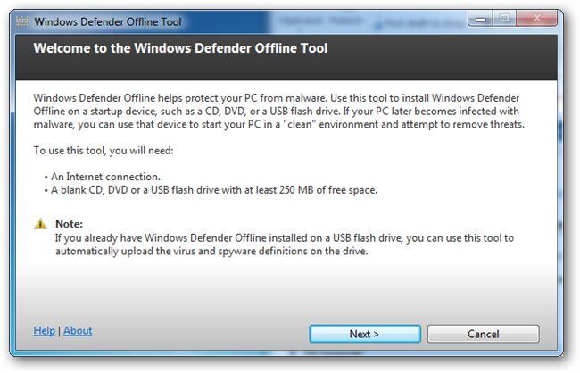 Cara Membuat USB Bootable Windows Defender Versi Offline 3