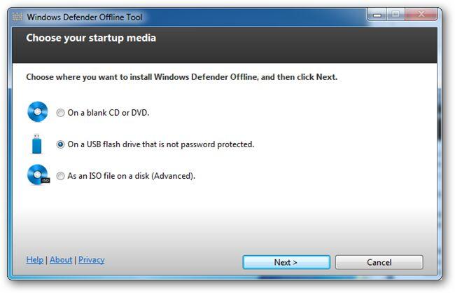 Cara Membuat USB Bootable Windows Defender Versi Offline 4