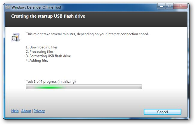 Cara Membuat USB Bootable Windows Defender Versi Offline 6