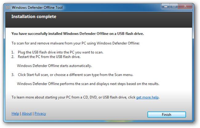 Cara Membuat USB Bootable Windows Defender Versi Offline 7