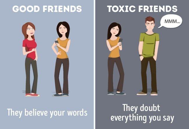 Perbandingan Teman Baik Dan Jahat 6