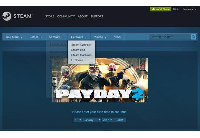 Payday2 Steam