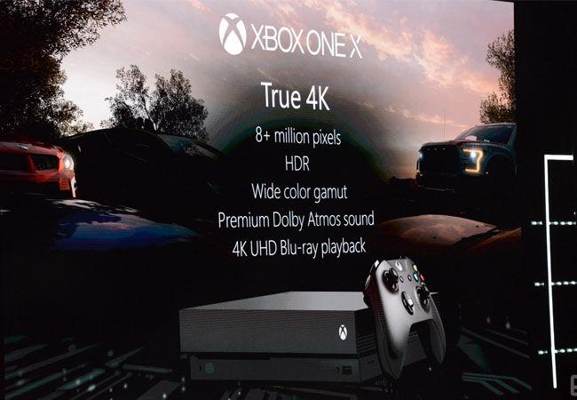 Xbox One X Spek