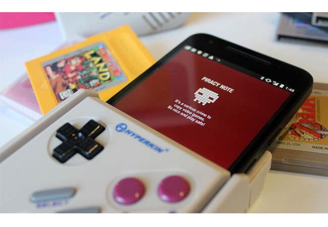 Smartphone Jadi Gameboy