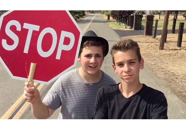 Stop Sign Prank