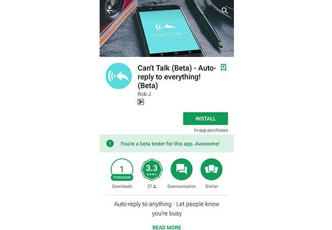 Cara Balas Semua Pesan Otomatis Android 1