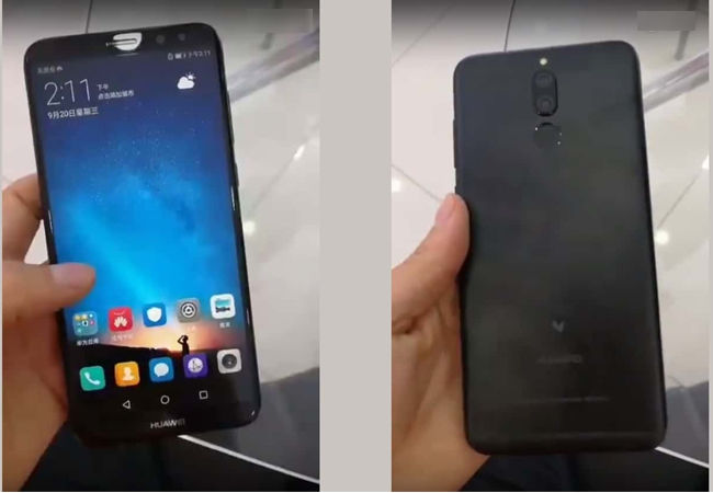 Huawei Mate 10 Lite 4 Kamera