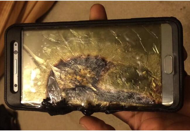 Smartphone Meledak 4