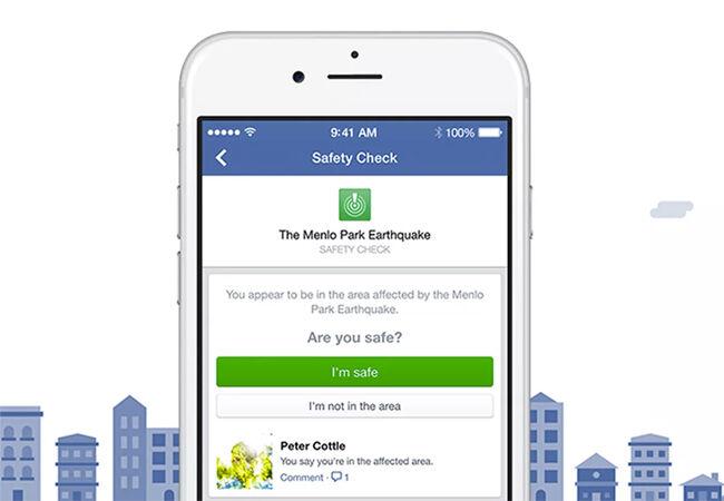 Cara Selamat Dari Bencana Alam Dengan Facebook
