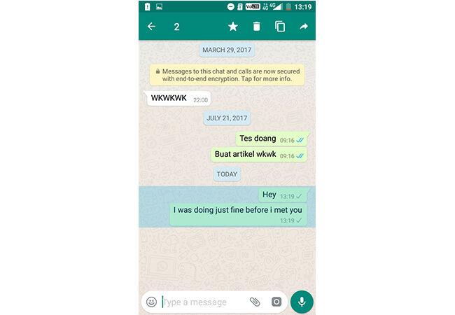 Cara Hapus Pesan Terkirim Di Whatsapp 3
