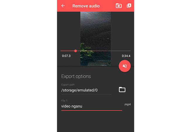 Cara Menghilangkan Suara Video Di Android 4