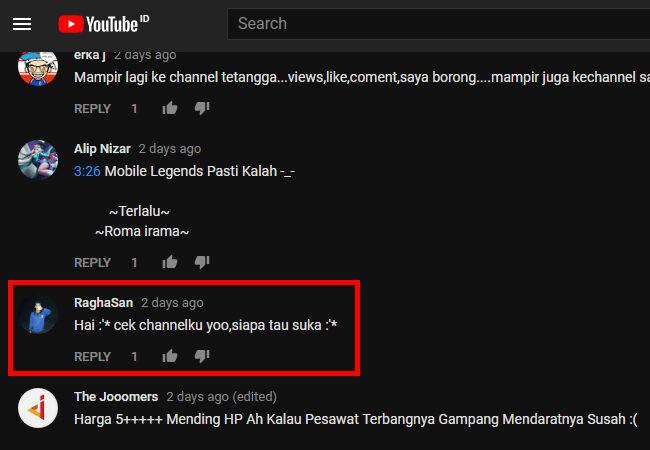 Youtuber Benci 4