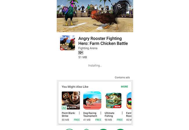 Cara Adu Ayam Di Android Step 1