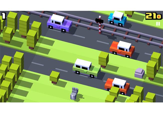 Game Offline Android Terbaik Crossy Road