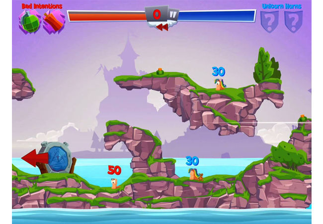 Game Offline Android Terbaik Worms 4