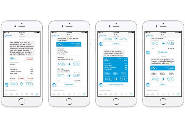 Aplikasi Facebook Messenger Chat Bot