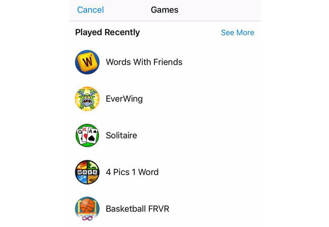 Aplikasi Facebook Messenger Games