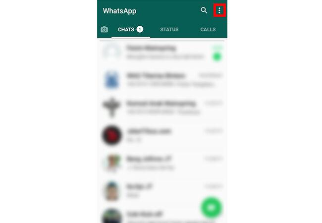 Bikin Whatsapp Anti Lemot Step 1
