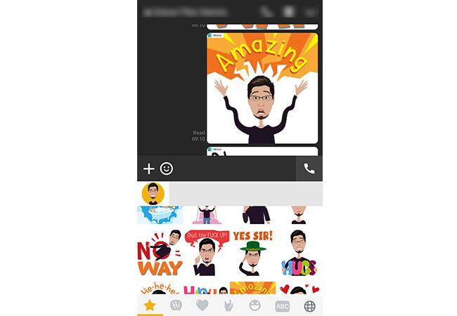 Cara Bikin Sticker Pribadi Android 7