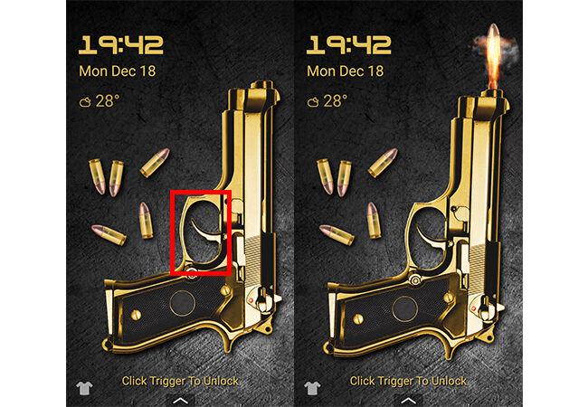 Cara Buka Kunci Layar Android Pakai Pistol 4