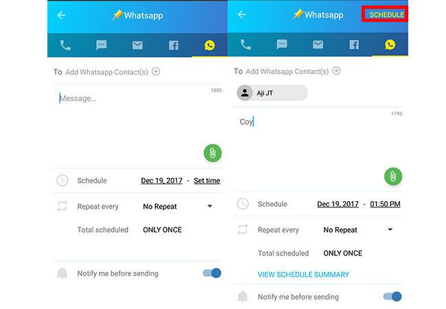 Cara Bikin Jadwal Kirim Pesan Whatsapp 5