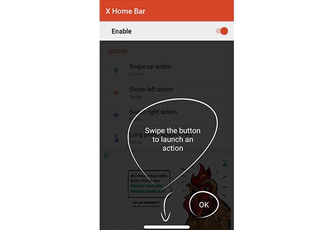 Cara Bikin Tombol Home Iphone X Di Android 2