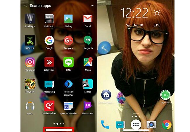 Cara Bikin Tombol Home Iphone X Di Android 5