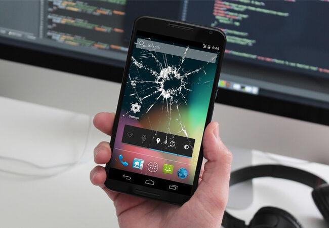 Bahaya Gunakan Smartphone Layar Pecah 5