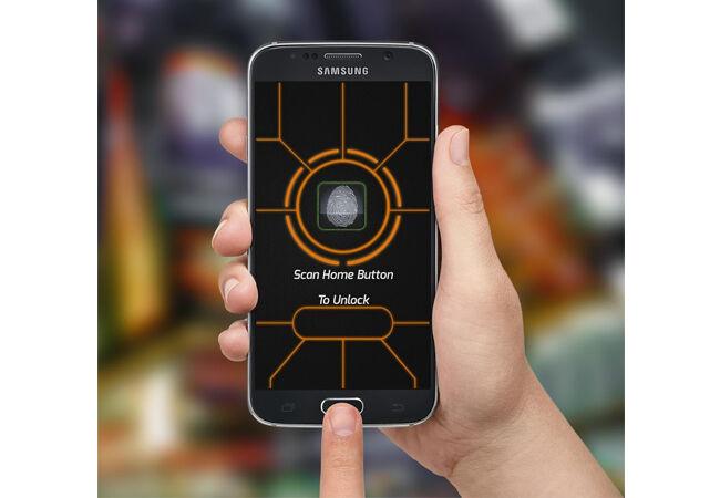 Aplikasi Sidik Jari Android 10