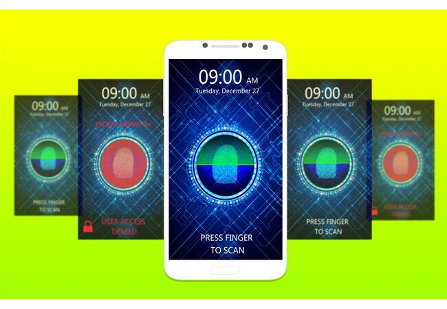 Aplikasi Sidik Jari Android 11