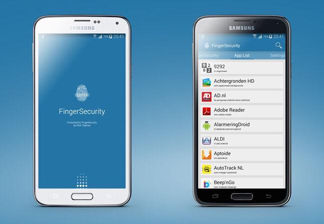 Aplikasi Sidik Jari Android 2