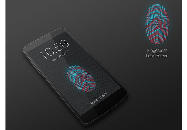 Aplikasi Sidik Jari Android 5