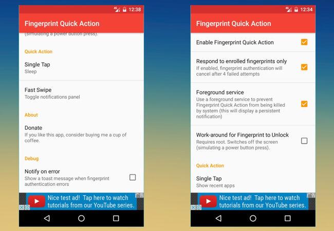 Aplikasi Sidik Jari Android 8
