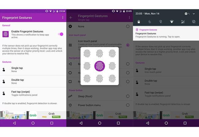 Aplikasi Sidik Jari Android 9