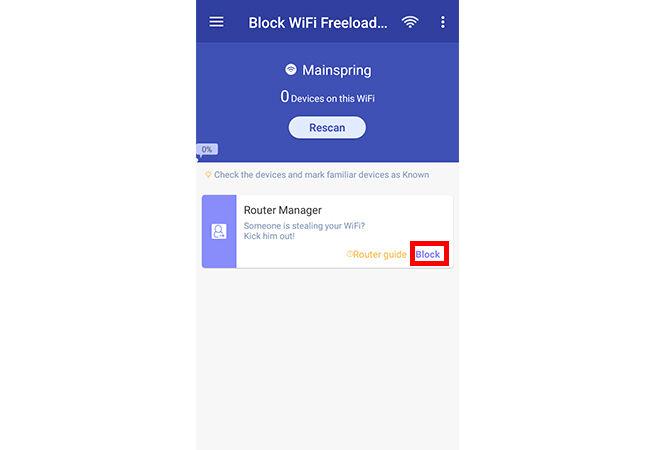 Cara Memblokir Pengguna Wifi 4