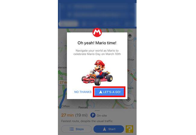 Cara Main Mario Kart Google Maps 4 36b7e