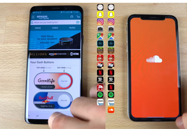 Galaxy S9 Vs Iphone X 1 4e11a